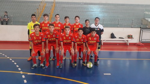 Futsal Sub-15 da AFMM é vice campeão do Interestadual 2019